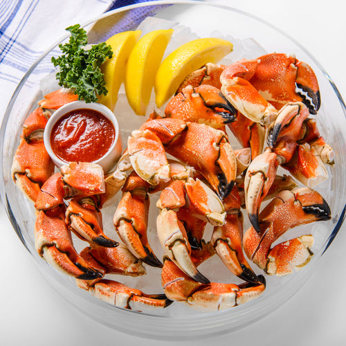 NakedCatch Triple-Scored Jonah Crab Claws - 1 lb.