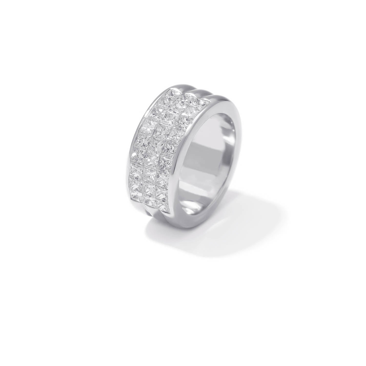 Classic Band Ring, Diamond