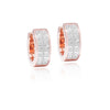 Classic Earrings, Diamond Round