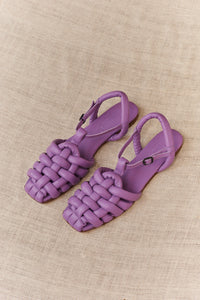 Hereu, Cabersa Padded Fisherman Sandal Lilac