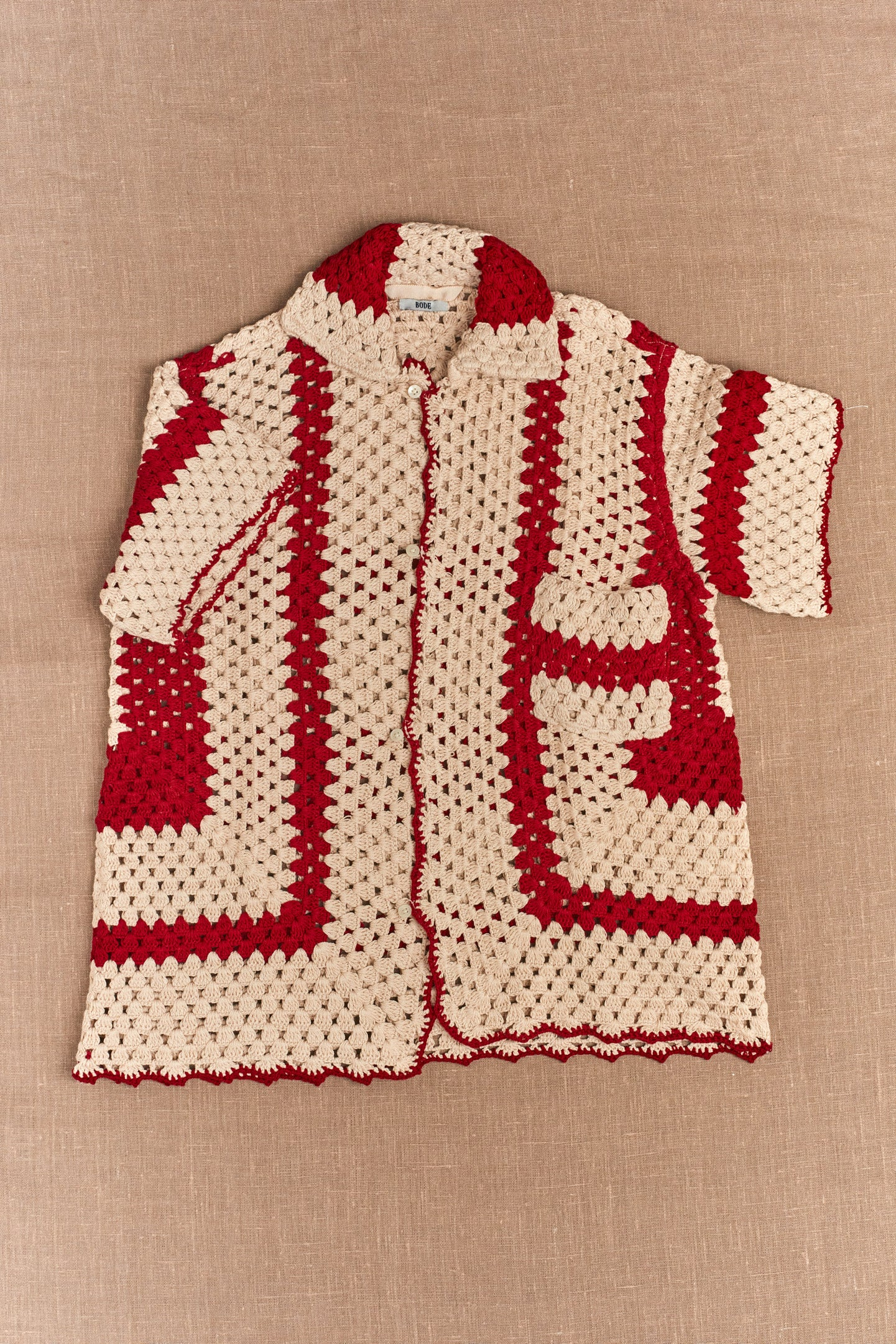 Bode, Crochet Big Top Shirt
