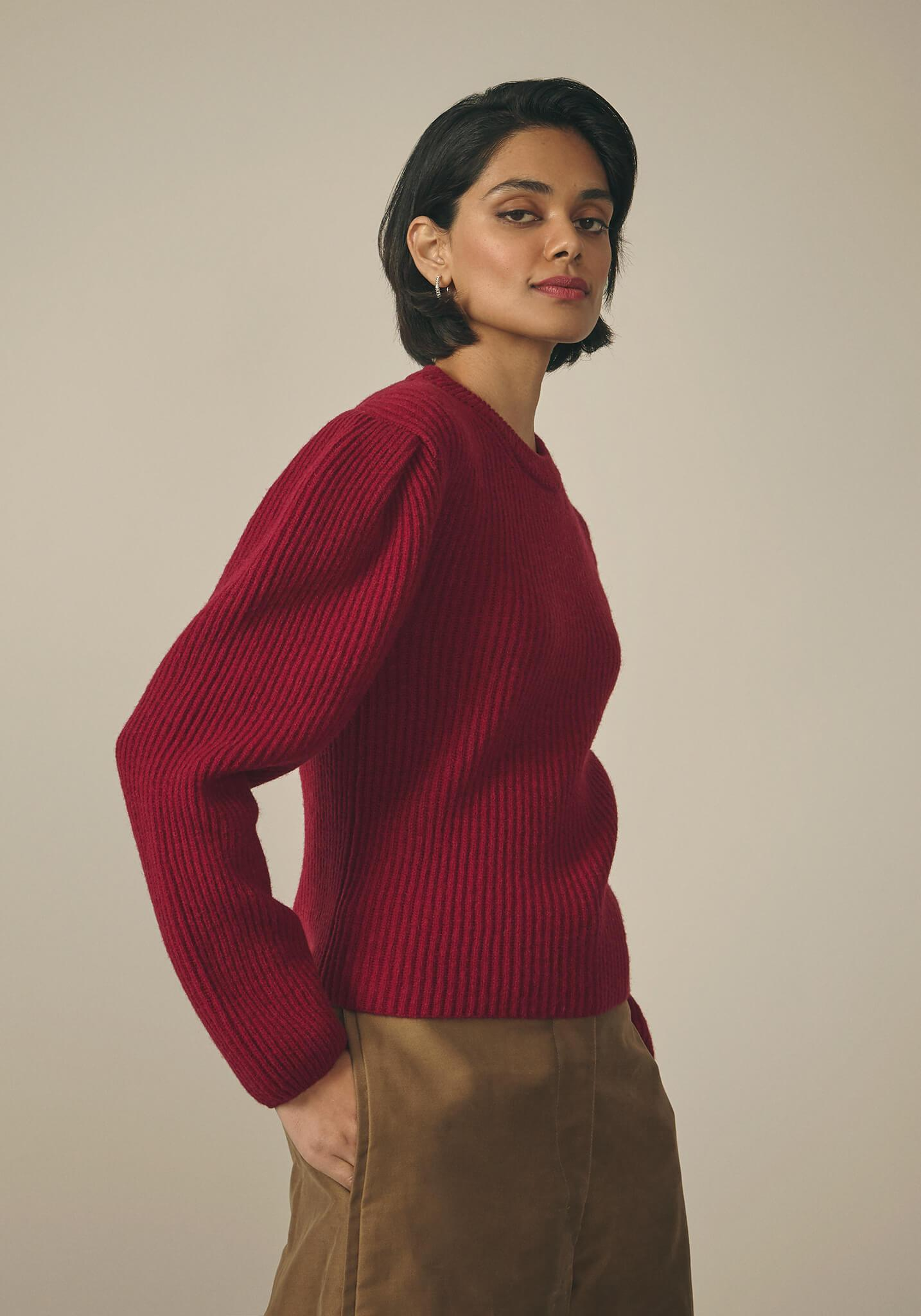 Lemaire, Shetland Beetroot Sweater