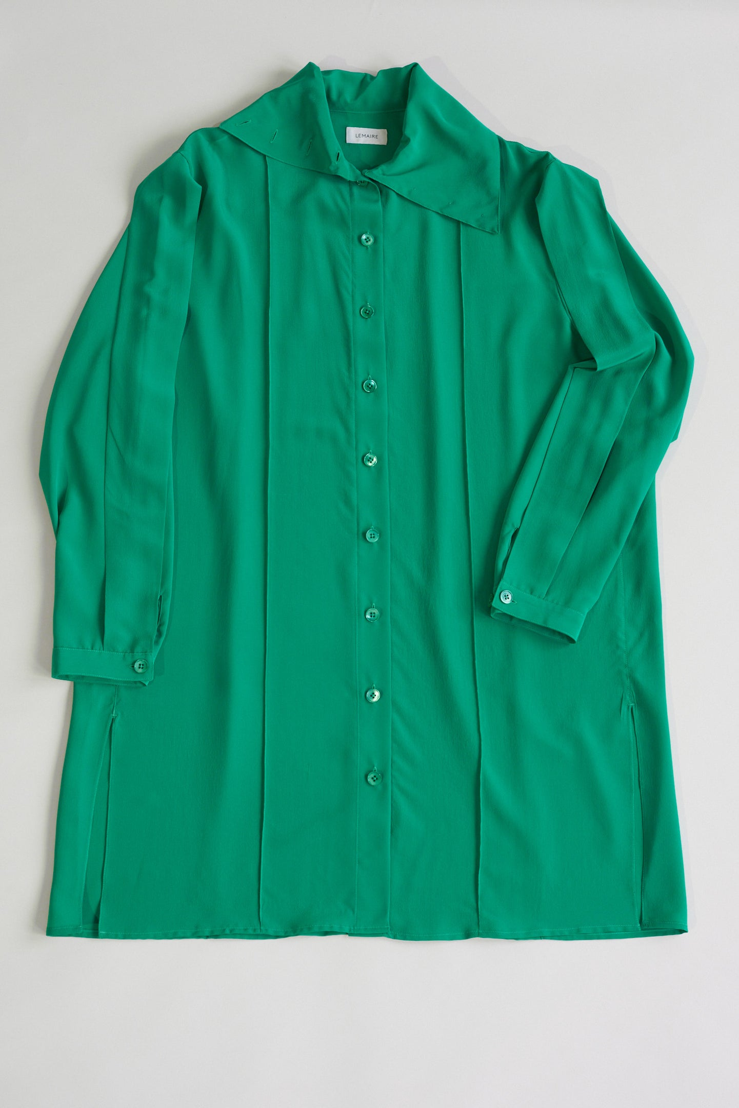 Lemaire, Shirt Dress Deep Mint