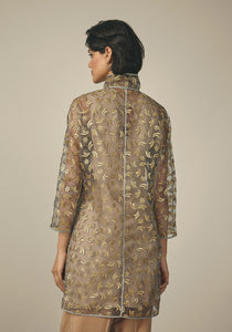 Maison Rabih Kayrouz, Gold Embroidered Stars Top