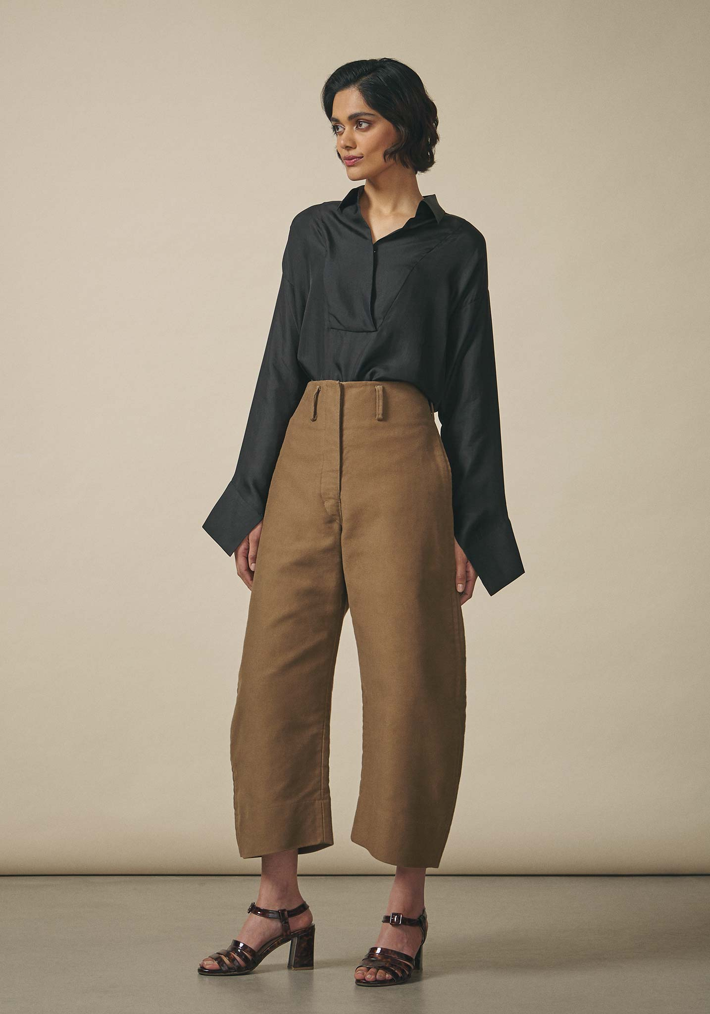 Lemaire, Cropped Chino Trousers