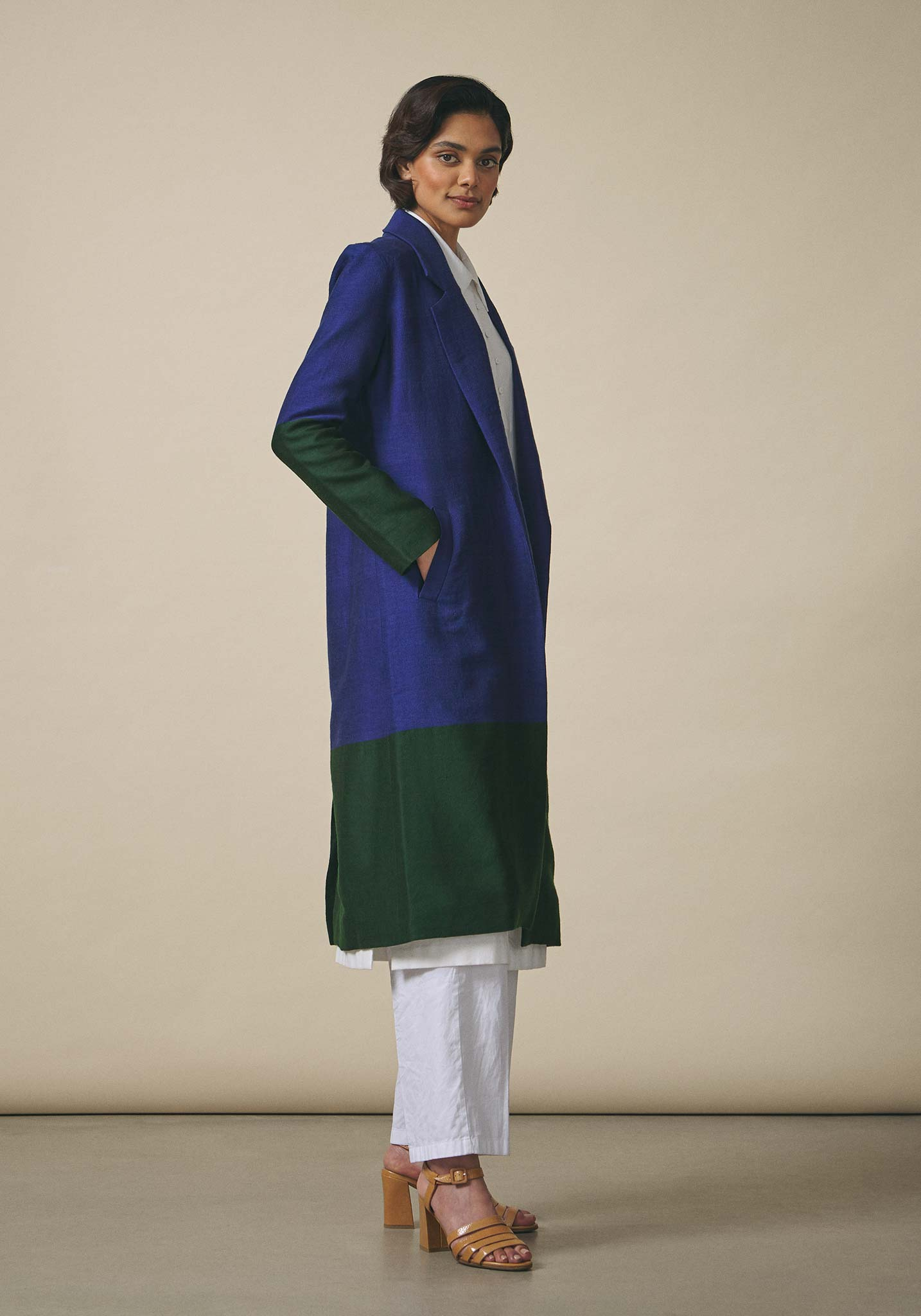 PayalKhandwala, Wool Silk Jacket