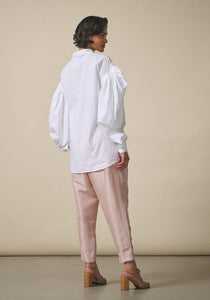 Dhruv Kapoor, Oversized White Wrap Shirt