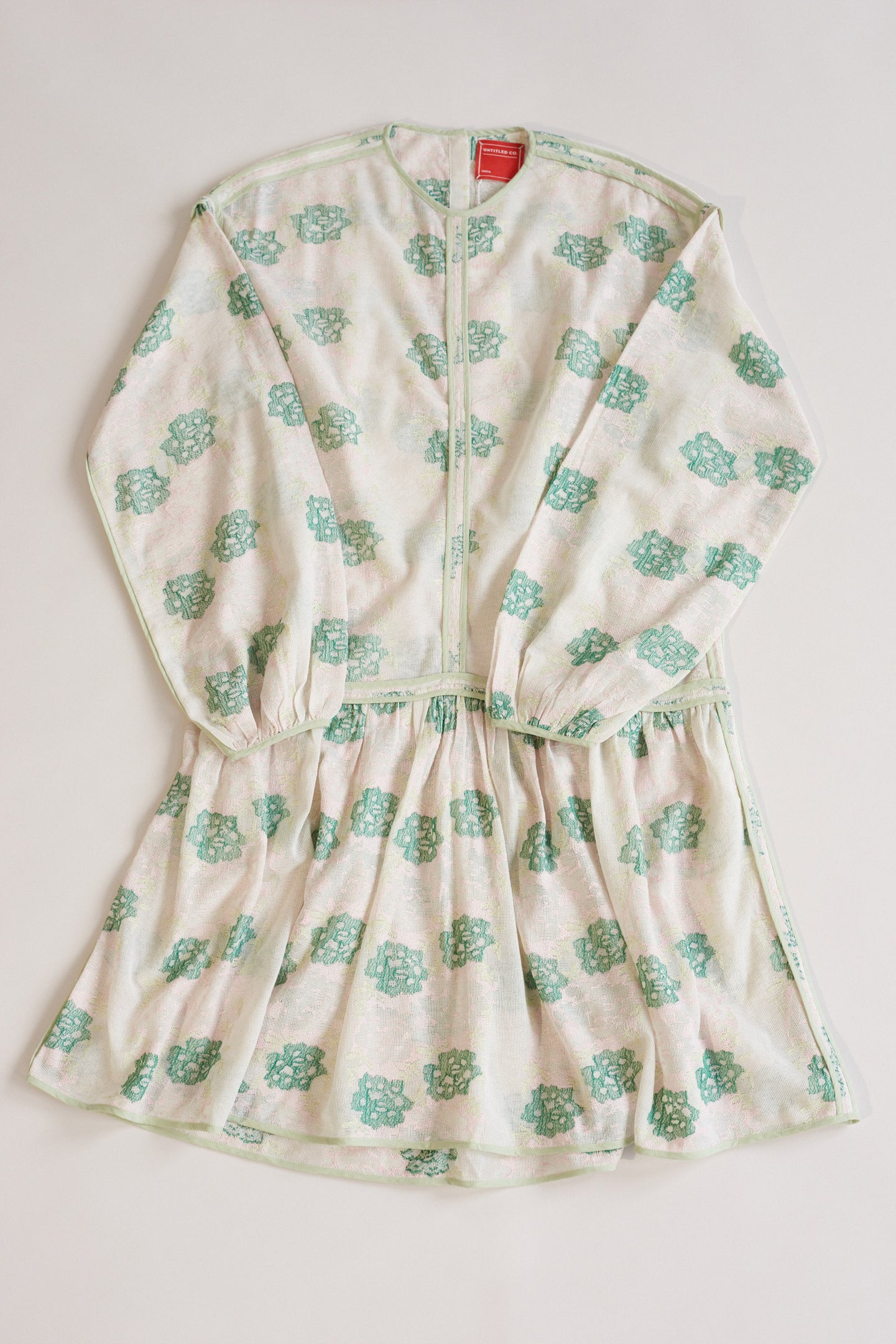 Untitled Co., Runa Mesh Dress Green