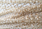 Land drop beads lace haute couture | Glam House Fabrics