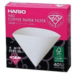 Hario V60 01 Filter Papers - 40 Pack