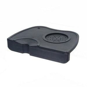 Tamper Mat- Black. Dropped with Tamp holder