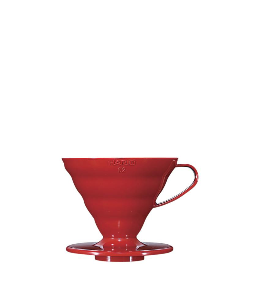 Hario V60 02 (2 Cups ) Plastic Coffee Dripper - Clear