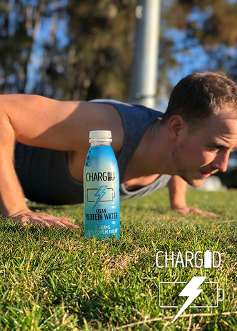 Charged healthy recovery Drinks protein water