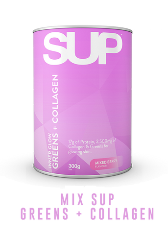 MIX SUP INNER GLOW GREENS AND COLLAGEN