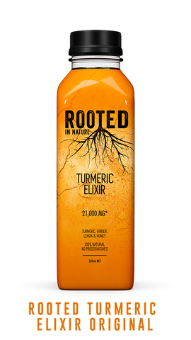 Rooted Turmeric Elixir original healthy drink
