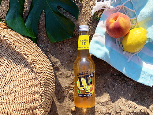 Organic IT peach & lemon healthy Ice tea sugar free