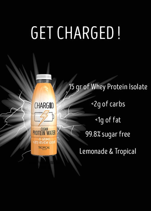 Charged Drinks tropical Healthy recovery protein water