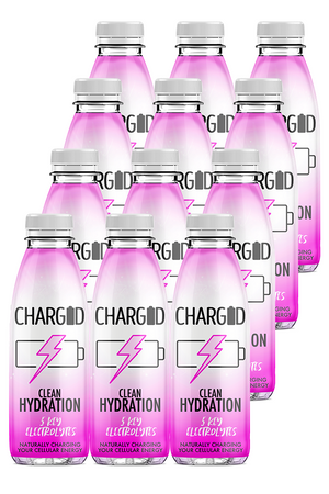 Charged Drinks Berry Healthy recovery drink hydration 12 pack
