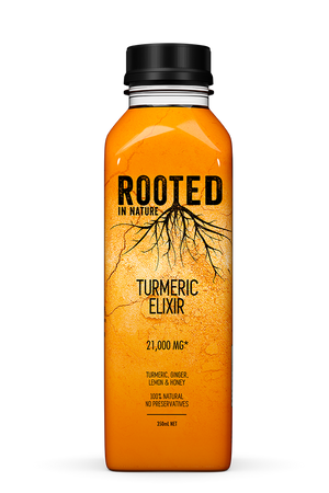 Rooted Turmeric Elixir Healthy Drinks