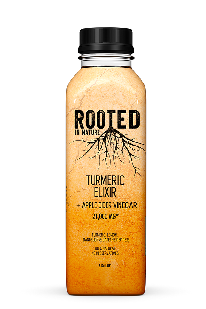 Rooted Turmeric Elixir + Apple Cider Vinegar (12 pack)