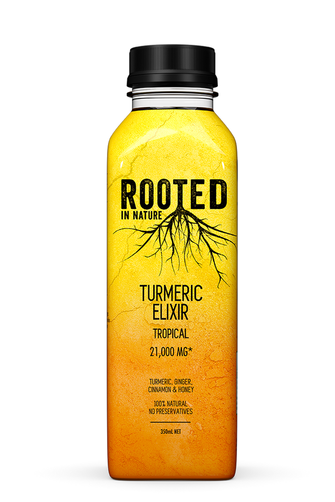 Rooted Turmeric Elixir Tropical (12 pack)