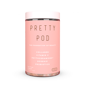 Pretty Pod Powder 100g collagen skincare beautiful skin hair and nails