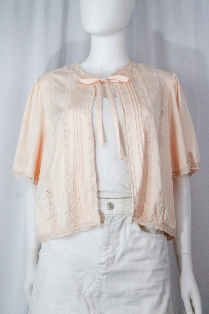 Jacket – Size Small/Medium – Brunch, Music festival, Summer, 60s, Spring, Valentine's Day, Fall, Spring