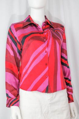 Top – Size Small/Medium – Decades, 70s, Theme party, Night out, 60s, Winter, Fall, Spring, Valentine's Day, Halloween