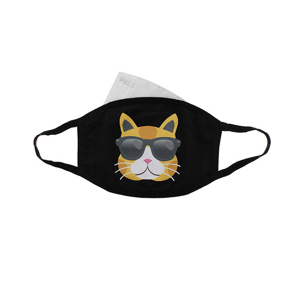 Cool Cat Reusable Face Mask