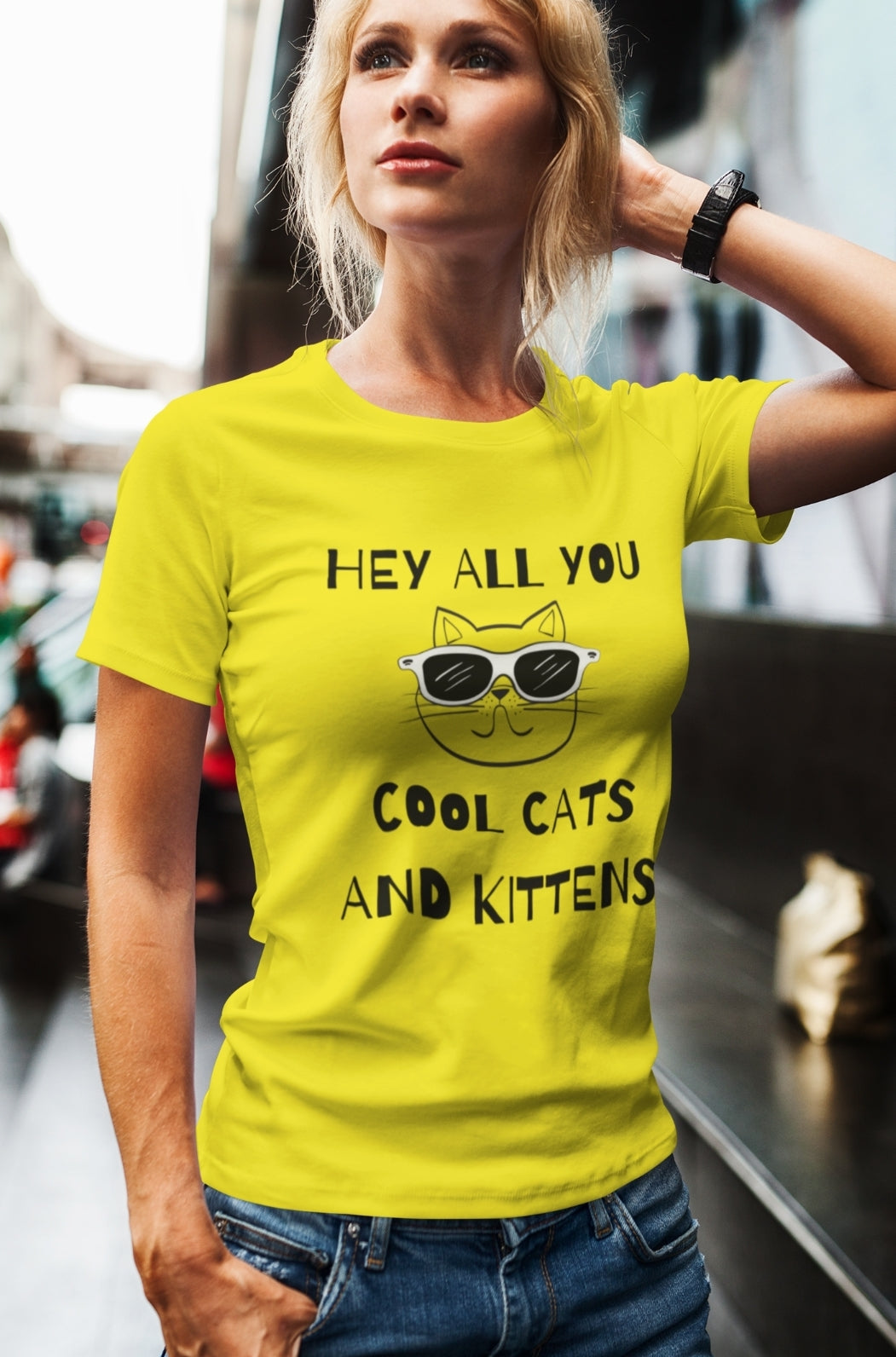 Cool Cats & Kittens Short-Sleeve Unisex T-Shirt