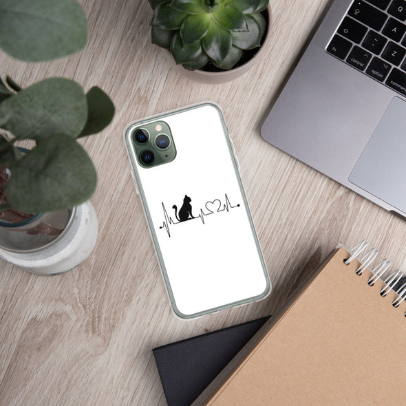 Cat Lifeline iPhone Case