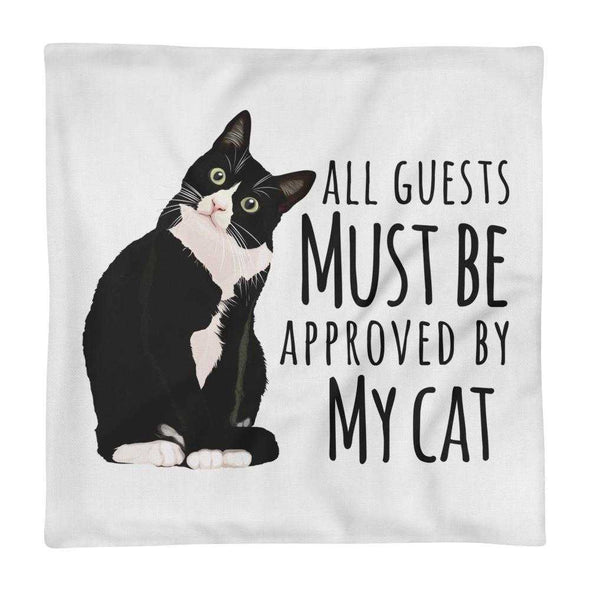 Guests Must Be Approved - Premium Pillow Case - bonboma