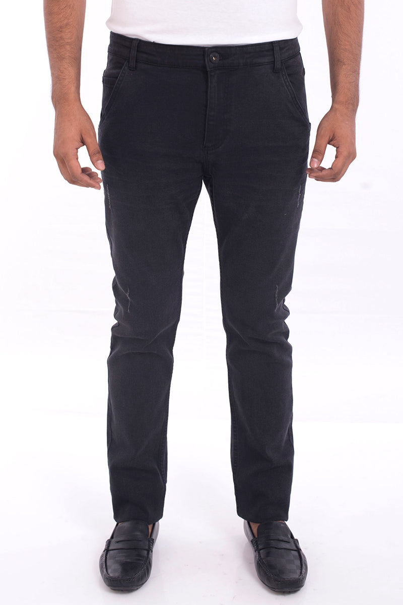 Tapered Fit Jeans BLACK