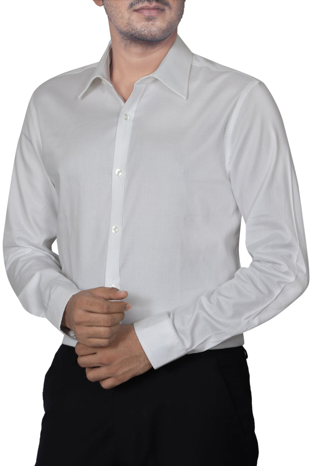 WHITE - SLIM FIT