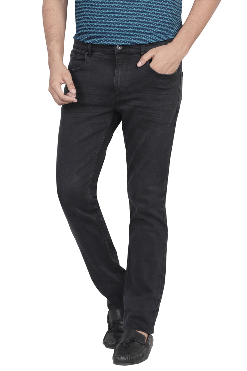 Slim Fit Jeans BLACK 1