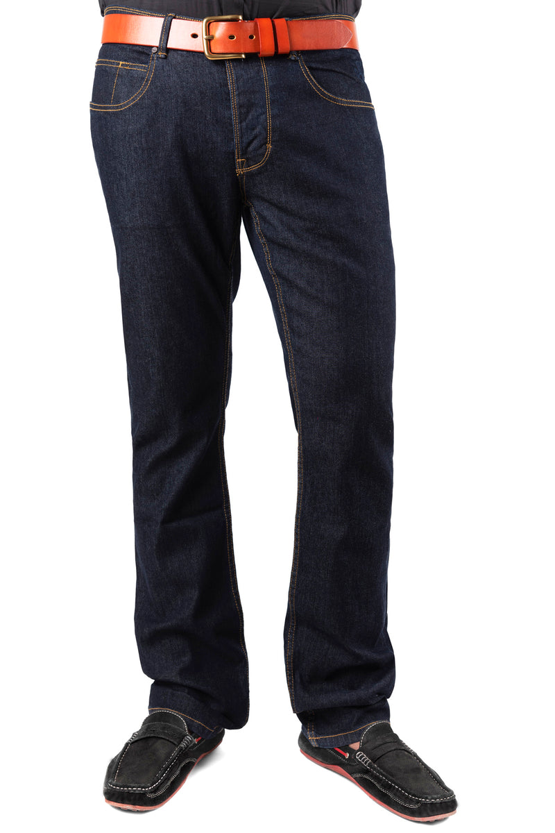 Tapered Fit Jeans DK CHARCOAL