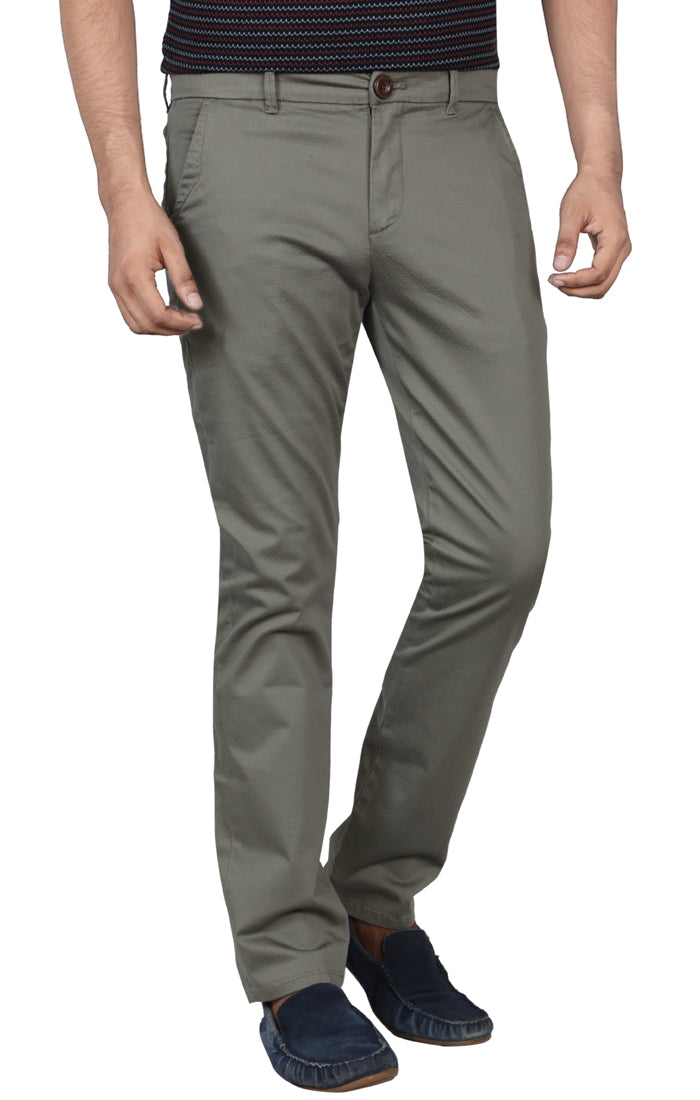 Slim Fit Casual Pant GREEN SPRING