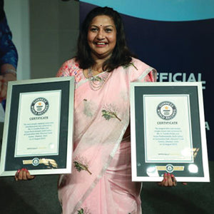 The Rank of Guinness World Record: Beauty & Skincare in Consumer's Market.