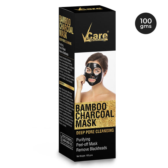 VCare Bamboo Charcoal Mask, 100 gm