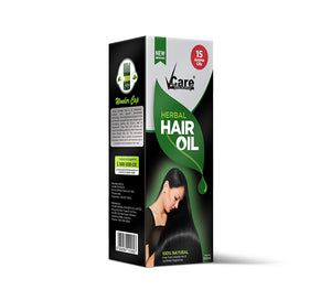 VCare Herbal Hair Oil With Wonder Cap, 100 ml