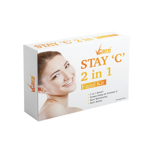 VCare Stay 'C' 2 in 1 Facial Kit