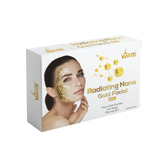 VCare Radiating Nano Gold Facial Kit