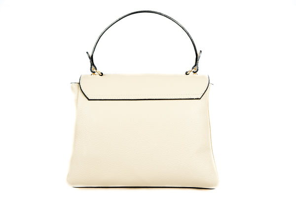 Stylish handbag in Beige color
