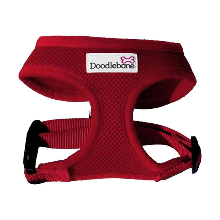 Doodlebone Padded Harness Red Large