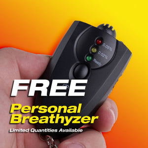 FREE Portable Mini Breathalyzer*