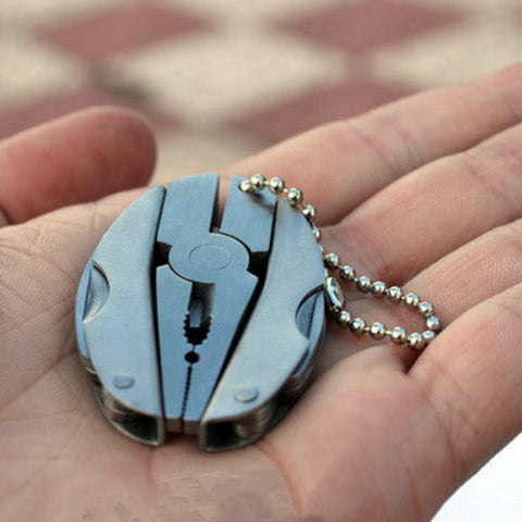 Pocket Multitool Keychain