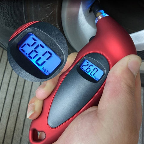 Digital LCD Tire Gauge
