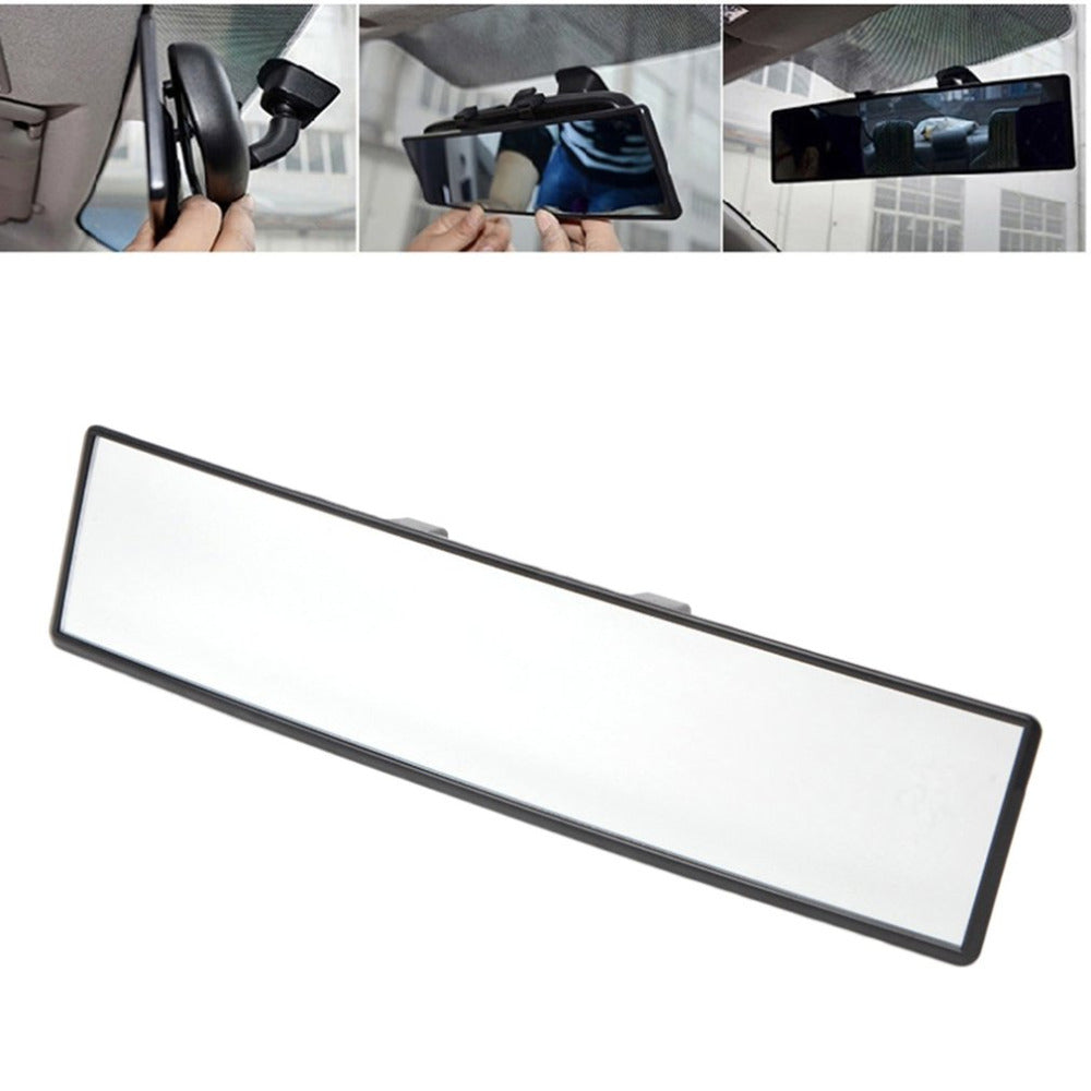 Universal Wide-Angle Convex Rearview Mirror
