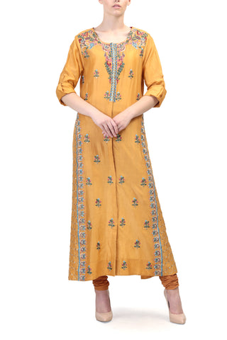 Chudidar Sleeves Anarkali