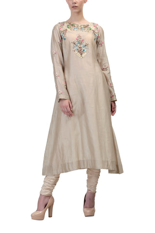 Embroidered Angarakha Kurta